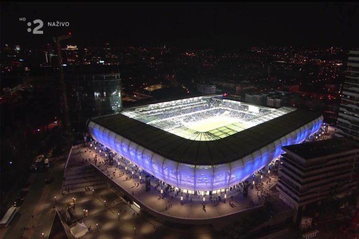 Otevření národního fotbalového stadionu a nejatraktivnější zápas společně vysílaly volná i placená televize