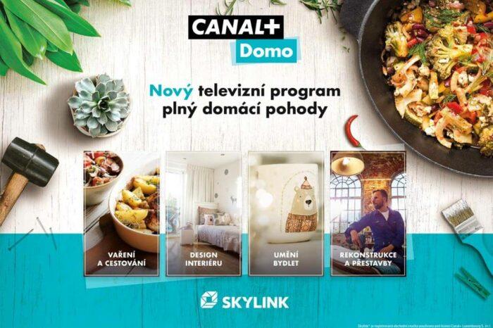 Skylink exkluzivně zařadil první program pod značkou CANAL+ na českém a slovenském trhu
