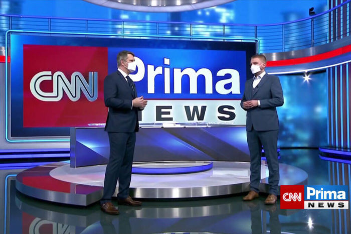 Odstartovala zpravodajská televize CNN Prima News. Jak ji naladíte?