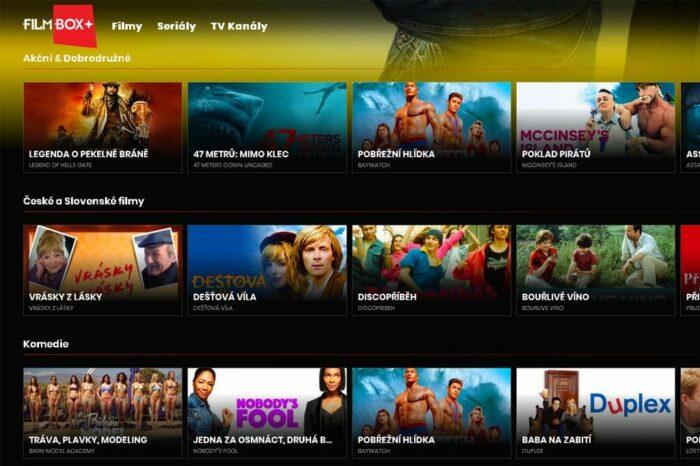 Odstartovala streamingová služba FilmBox+