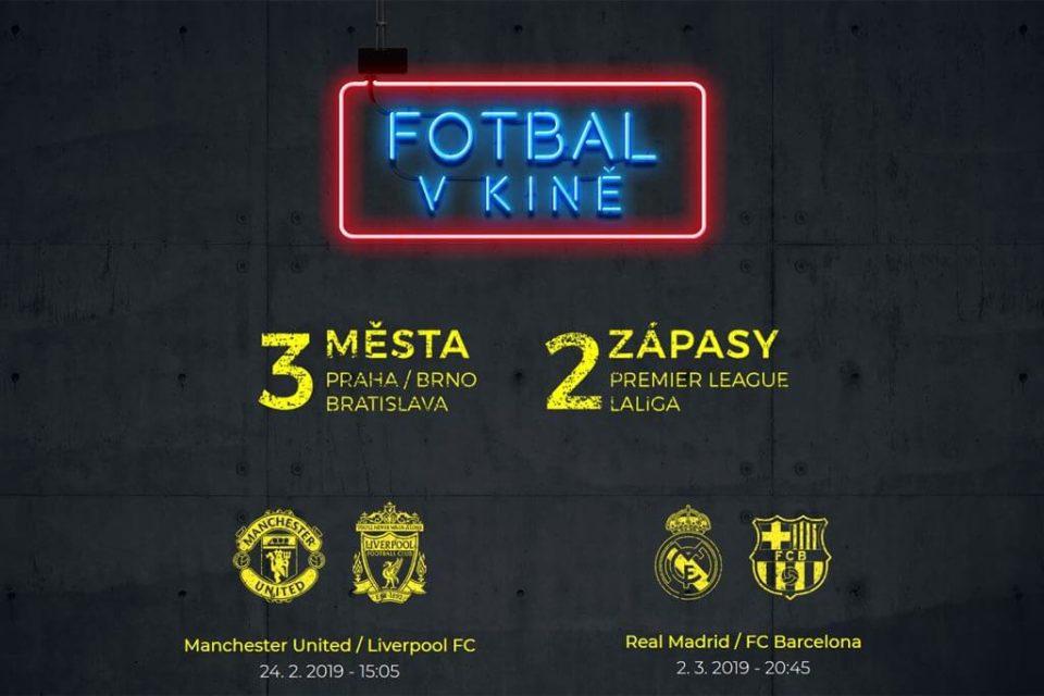 Fotbal v kině: předprodej lístků na duel Manchester United - Liverpool