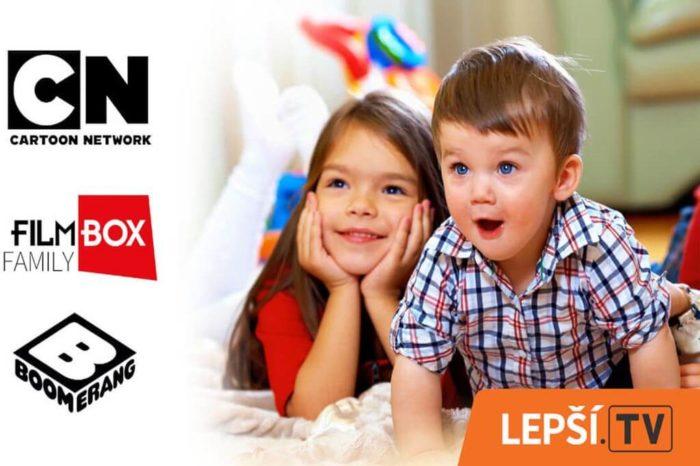 Služba Lepší.TV na Den dětí zařazuje tři avizované stanice