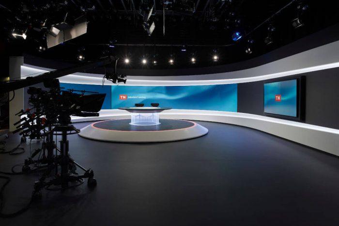 Nova ukázala nové studio pro Televizní noviny a publicistiku
