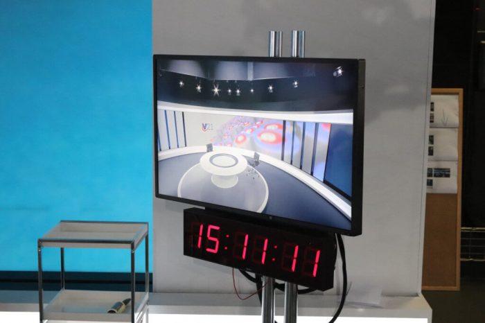 Autorské fotografie nového zpravodajského studia TV Nova