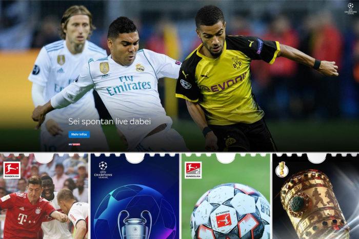 Volně dostupný Sky Sport News v létě vysílá živé fotbalové přenosy
