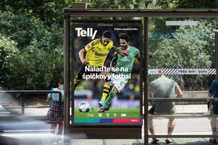 Podívejte se na vizuální identitu nové značky Telly