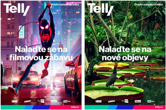 Nový vzhled webového portálu Telly se povedl, přinášíme fotogalerii